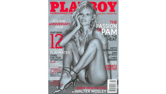 Auch Pamela Anderson ließ für das Männermagazin die Hüllen fallen. (Bild: Playboy)