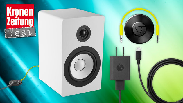 Chromecast Audio macht Lautsprecher smart (Bild: Google)