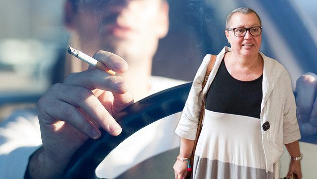Heimische Ärzte drängen auf Rauchverbot im Auto (Bild: thinkstockphotos.de, EXPA)