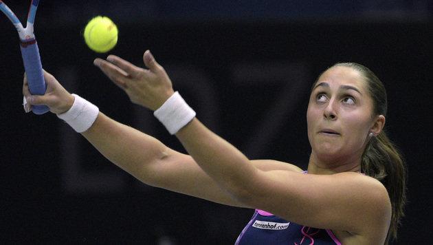 Paszek erstmals seit 2012 in einem WTA-Halbfinale (Bild: APA/HANS PUNZ)