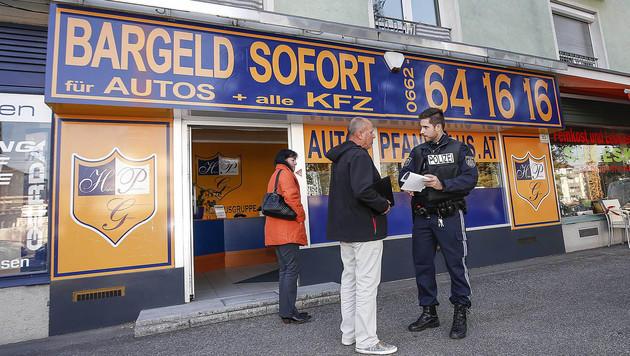 Der Tatort (Bild: MARKUS TSCHEPP)