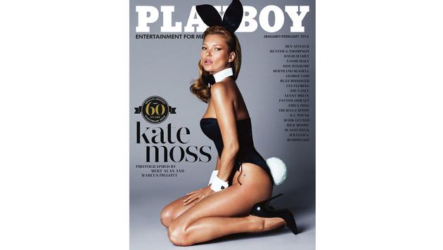 Kate Moss zog für die Jubiläumsausgabe zum 60. Geburtstag blank. (Bild: Viennareport)