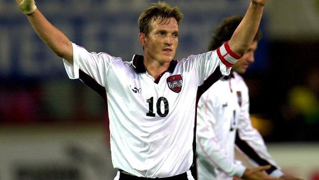 Österreichs letzter Torschütze bei einer WM: Andreas Herzog (Bild: APA/Jaeger Robert)