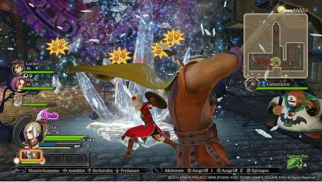 """""""So heiß wird der Spiele-Herbst! (Bild: Dragon Quest - Heroes)"""""""