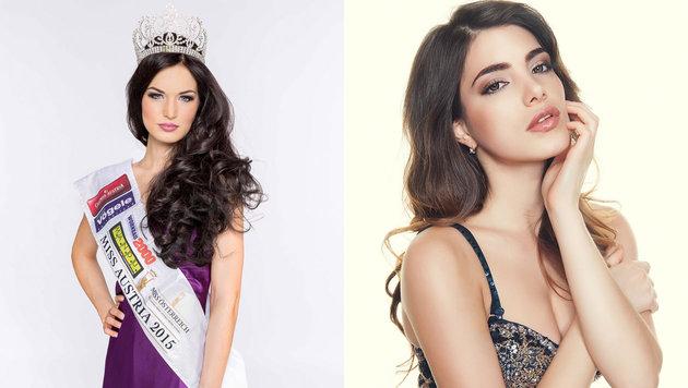 "Annika Grill (l.) fährt zur ""Miss World""-Wahl, Amina Dagi (r.) zum ""Miss Universe""-Contest (Bild: Heli Mayr/Manfred Baumann)"