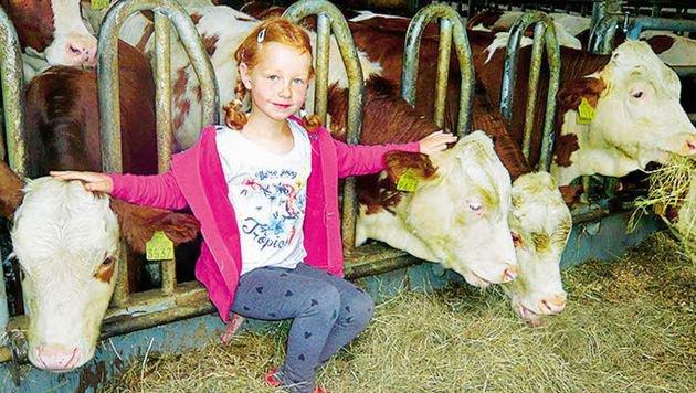 Bauernhöfe laden zum Erlebnisurlaub ein. Besonders die Kinder sind begeistert. (Bild: Waltraud Dengel)