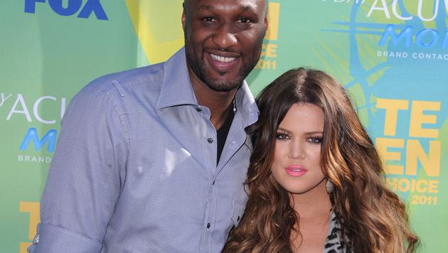 Lamar Odom und Khloe Kardashian (Bild: Viennareport)