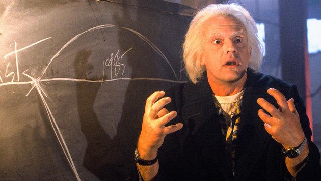 """Christopher Lloyd spielte in """"Zurück in die Zukunft"""" Doc Brown. (Bild: ORF)"""