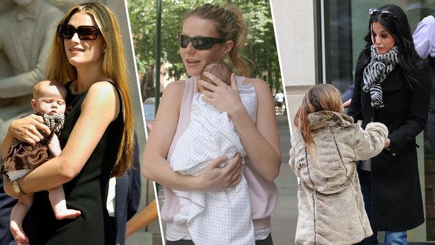 Brooke Shields, Gwyneth Paltrow, Courteney Cox: Sie alle traf eine Wochenbettdepression. (Bild: AP,Viennareport)