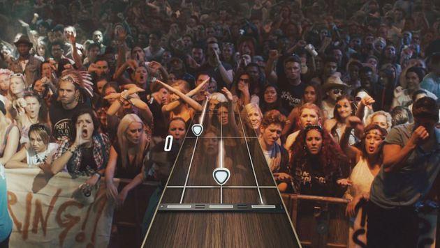 """""""So heiß wird der Spiele-Herbst! (Bild: Guitar Hero Live)"""""""