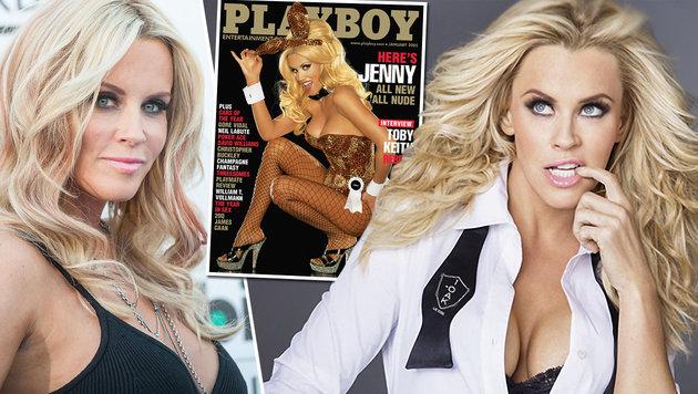 """Jenny McCarthy will letzte """"Playboy""""-Nackte sein (Bild: Viennareport, AP)"""