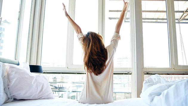 zur ck in den rhythmus fr her aus dem bett gesund fit. Black Bedroom Furniture Sets. Home Design Ideas