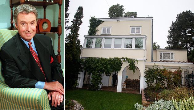Der Verkauf von Peter Alexanders Villa in Wien-Grinzing wurde zur Geheimaktion. (Bild: AP, Martin A. Jöchl)