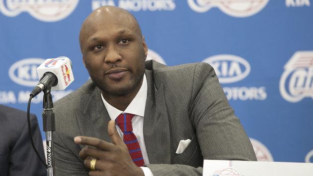 Ex-NBA-Star Lamar Odom offenbar aus Koma erwacht (Bild: AP)
