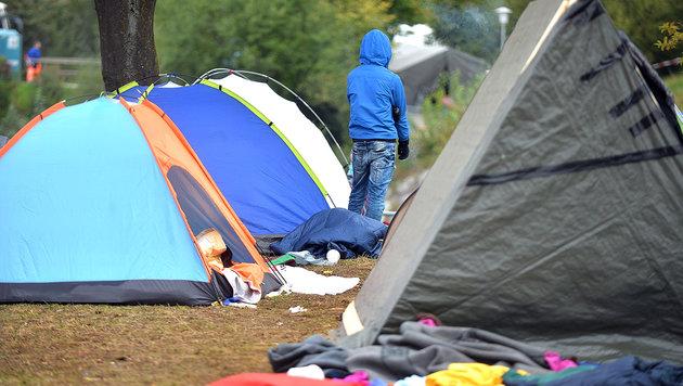 Flüchtlingsquartiere: Quoten nur von Wien erfüllt (Bild: APA/BARBARA GINDL)
