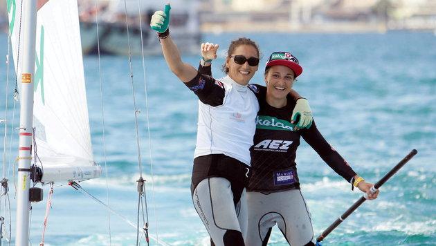 Vadlau/Ogar erneut Segel-Weltmeister! (Bild: APA/EPA/LUIS TEJIDO)