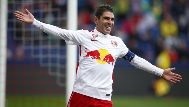 Salzburg-Kapitän Soriano ist seine Wohnung los (Bild: GEPA)