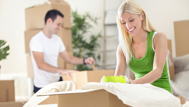 Wann man bereit für eine gemeinsame Wohnung ist (Bild: thinkstockphotos.de)