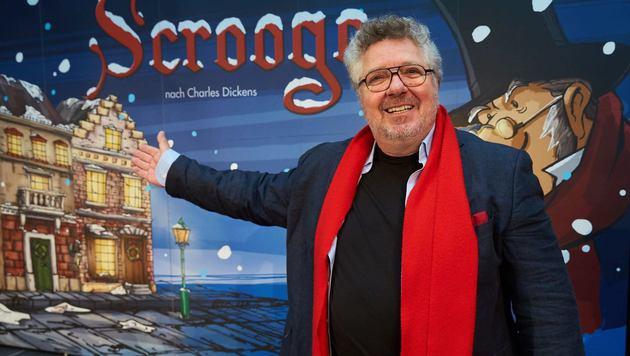 Hätten Sie ihn erkannt? Michael Schanze am Montag in Wien (Bild: Starpix/Alexander Tuma)