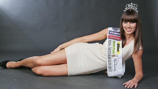 """Ena Kadic als """"Miss Austria 2013"""" (Bild: Martin A. Jöchl)"""