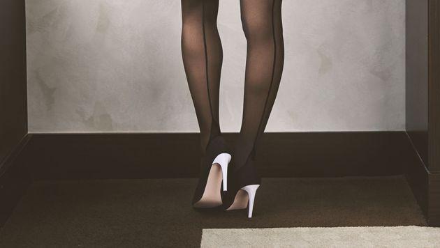 Auch sexy Strümpfe gehören zur Verführung dazu. (Bild: Hunkemöller)