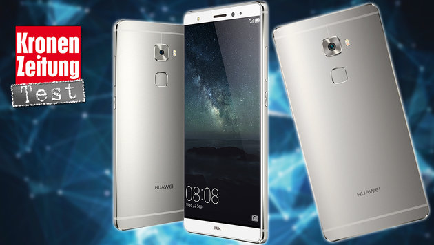 Huawei Mate S: Edel-Handy aus China im Praxistest (Bild: Huawai, thinkstockphotos.de)