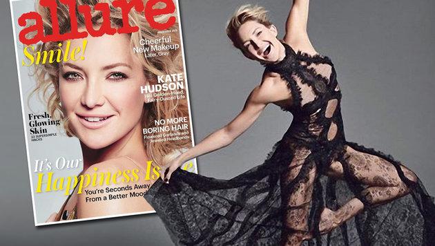 """Kate Hudsons """"durchgeknallte"""" Fitnessroutine (Bild: Viennareport, Allure)"""