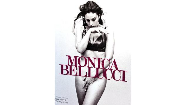 Monica Bellucci posierte nackt für ihr Buchcover. (Bild: Viennareport)