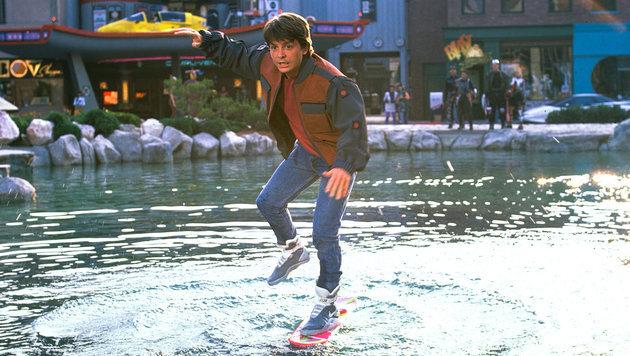 """""""Das dürfen Sie mit Ihrem Hoverboard! (Bild: Universal Pictures)"""""""