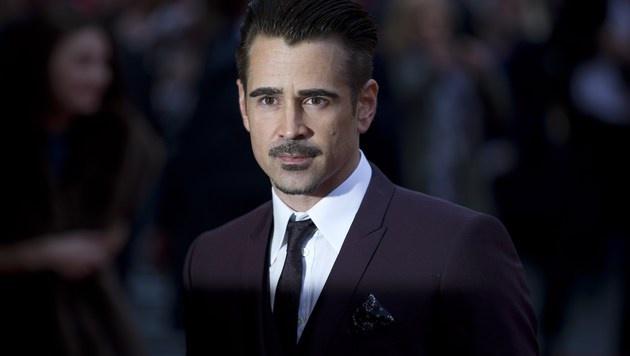 """Bei der Premiere von """"The Lobster"""" in London war Colin Farrell schon wieder rank und schlank. (Bild: APA/AFP/JUSTIN TALLIS)"""