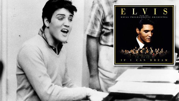 Elvis Presley erstmals mit Orchester zu hören (Bild: Sony Music, epe)