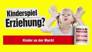 Folge 1: Kinder an der Macht (Bild: krone.tv)
