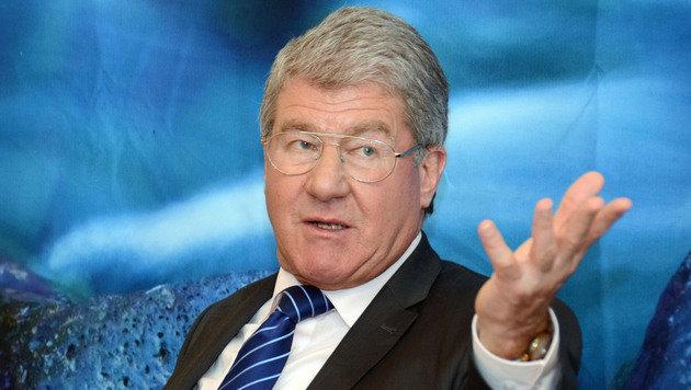 Tiwag-Chef Bruno Wallnöfer: Monatsgehalt 23.500 Euro, dazu noch 4165 Euro Pension (Bild: Andreas Fischer)