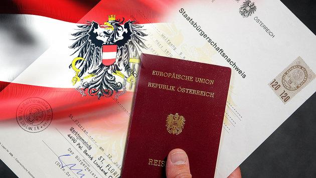 Bereits deutliches Plus bei Einbürgerungen 2015 (Bild: APA/HANS KLAUS TECHT, thinkstockphotos.de)