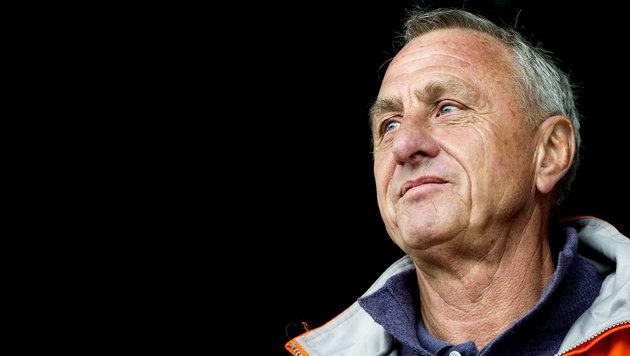 """Cruyff liegt im Kampf gegen den Krebs """"2:0 vorne"""" (Bild: KOEN VAN WEEL / EPA / picturedesk.com)"""