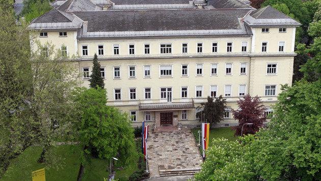 Das Amt der Kärntner Landesregierung in Klagenfurt (Bild: APA/GERT EGGENBERGER)