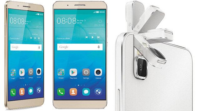 Huawei bringt Selfie-Handy ShotX mit Schwenkkamera (Bild: Huawei)