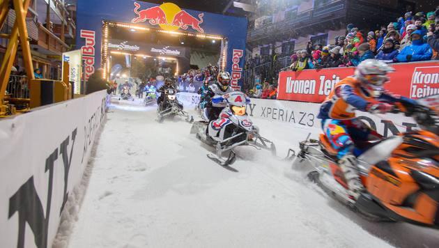 Winter-Formel-1 in Saalbach Hinterglemm (Bild: ViennaPress / Andreas TISCHLER)