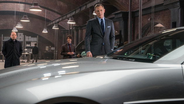 """""""Alle Facts zum neuen Bond-Boliden! (Bild: Sony Pictures Releasing GmbH)"""""""