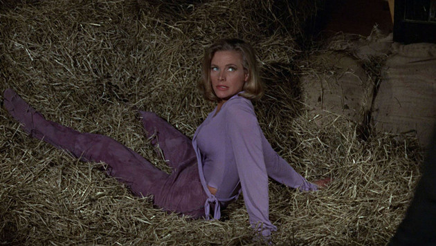 "Honor Blackman spielte in ""Goldfinger"" Bond-Girl Pussy Galore. (Bild: Viennareport)"