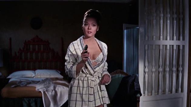 """Diana Rigg spielte in """"Im Geheimdienst Ihrer Majestät"""" Bond-Girl Teresa di Vicenzo. (Bild: Viennareport)"""
