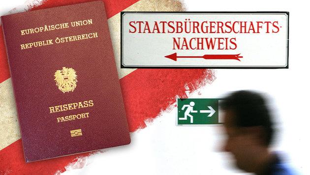 Test für Staatsbürgerschaft soll nun härter werden (Bild: APA/HANS KLAUS TECHT, Martin. A. Jöchl)