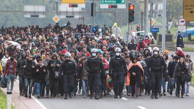 Schützenhöfer: Friedensprojekt Europa am Scheitern (Bild: AFP)