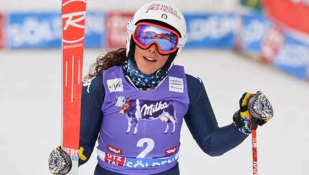 Federica Brignone, die große Siegerin des Tages (Bild: GEPA)