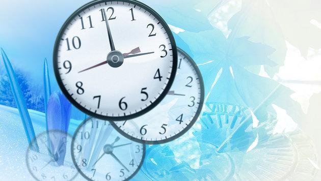 Zeitumstellung: Zeiger müssen eine Stunde zurück (Bild: thinkstockphotos.de)