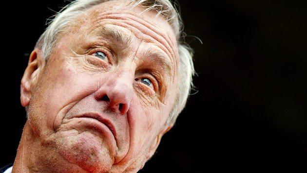 """Cruyff liegt im Kampf gegen den Krebs """"2:0 vorne"""" (Bild: APA/AFP/Koen van Weel)"""