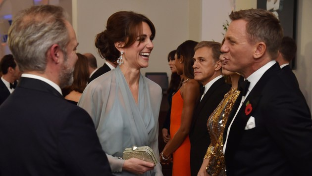 Daniel Craig und Kate (Bild: APA/AFP/ALAN DAVIDSON)