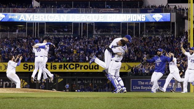 Baseball: Royals - Mets als Finale der Underdogs (Bild: AP)
