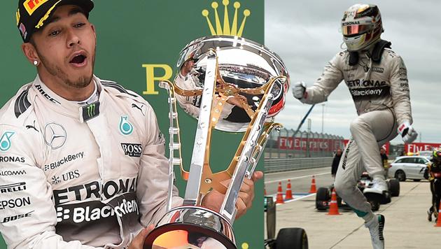 Lewis Hamilton verteidigt WM-Titel in der Formel 1 (Bild: APA/AFP/MARK RALSTON)