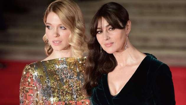 Lea Seydoux und Monica Bellucci (Bild: AFP)